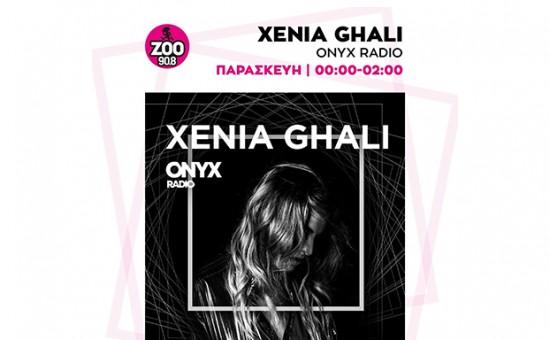 Xenia Ghali - onyx radio show!