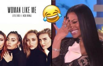 "Little Mix μαζί με Nicki Minaj στο ""Woman Like Me"""