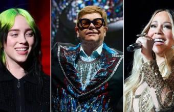 Elton John, Mariah Carey, Billie Eilish μένουν σπίτι και κάνουν φιλανθρωπική συναυλία !