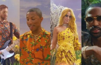 Calvin Harris, Pharrell Williams, Katy Perry και Big Sean στο video του «Feels»