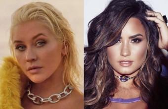 Η Christina Aguilera σε super συνεργασία με την Demi Lovato