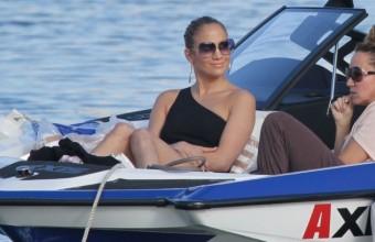 Η Jennifer Lopez κάνει διακοπές στην Κρήτη