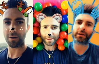 To νέο Videoclip των Maroon 5 είναι γυρισμένο με φίλτρα του Snapchat