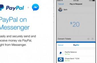 Δυνατότητα αποστολής χρημάτων απευθείας σε φίλους στο Facebook Messenger μέσω PayPal