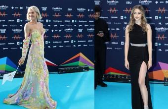 Eurovision 2021: Stefania και Έλενα Τσαγκρινού έλαμψαν στο «Τυρκουάζ Χαλί» της διοργάνωσης!