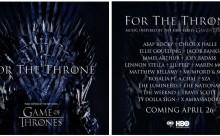 The Weeknd, Ellie Goulding, Travis Scott κ.ά. συμμετέχουν στο soundtrack του «Game of Thrones»