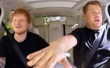 O Ed Sheeran σε μία απολαυστική εμφάνιση στο «Carpool Karaoke» (video)