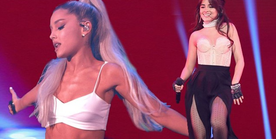 Ariana Grande & Camila Cabello τραγούδησαν στο Youtube Brandcast