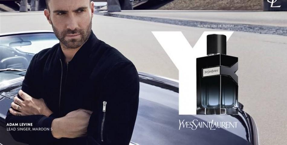Ο οίκος Yves Saint Laurent Beauté παρουσίασε το Y Eau de Toilette με πρεσβευτή τον Αdam Levine