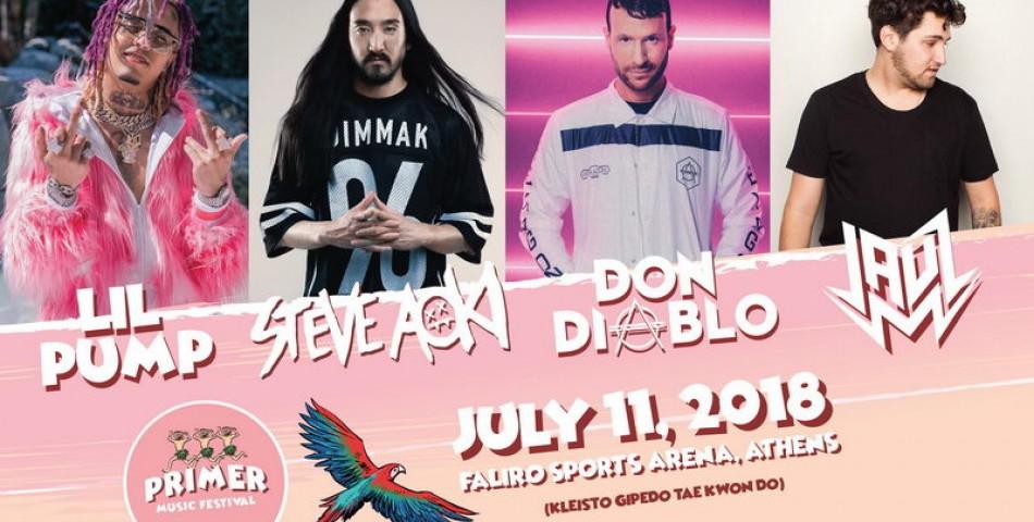 Lil Pump, Steve Aoki και Don Diablo έρχονται Ελλάδα
