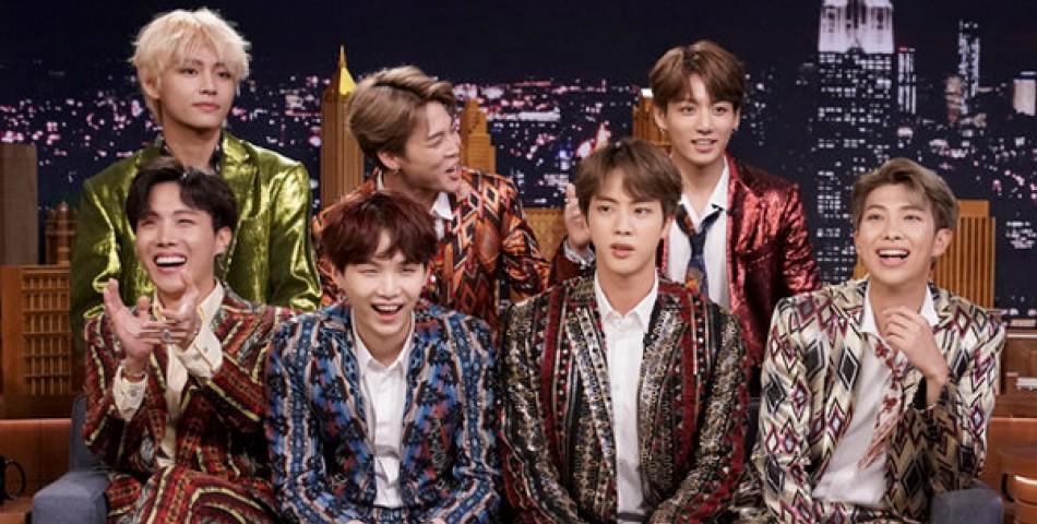 Οι BTS προκαλούν πανικό στο πλατό του «The Tonight Show»