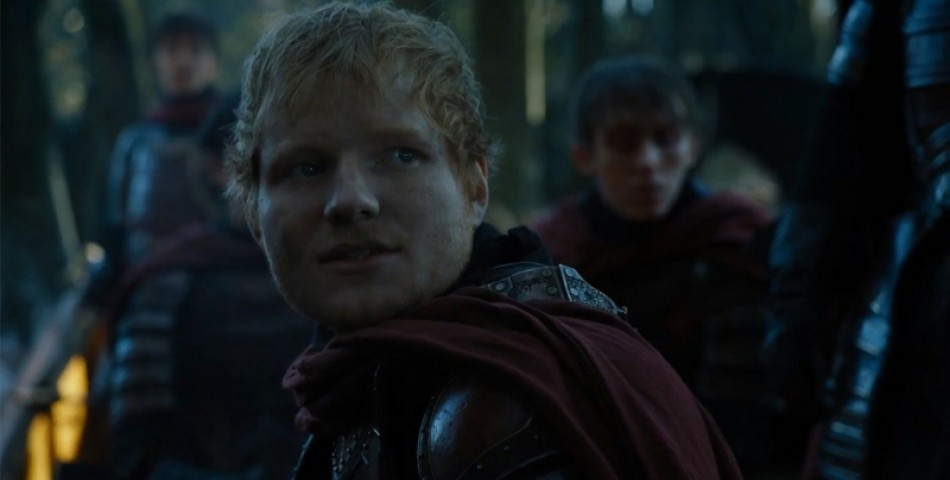 Ed Sheeran: Εμφάνιση – Έκπληξη στην Πρεμιέρα του «Game of Thrones» (video)