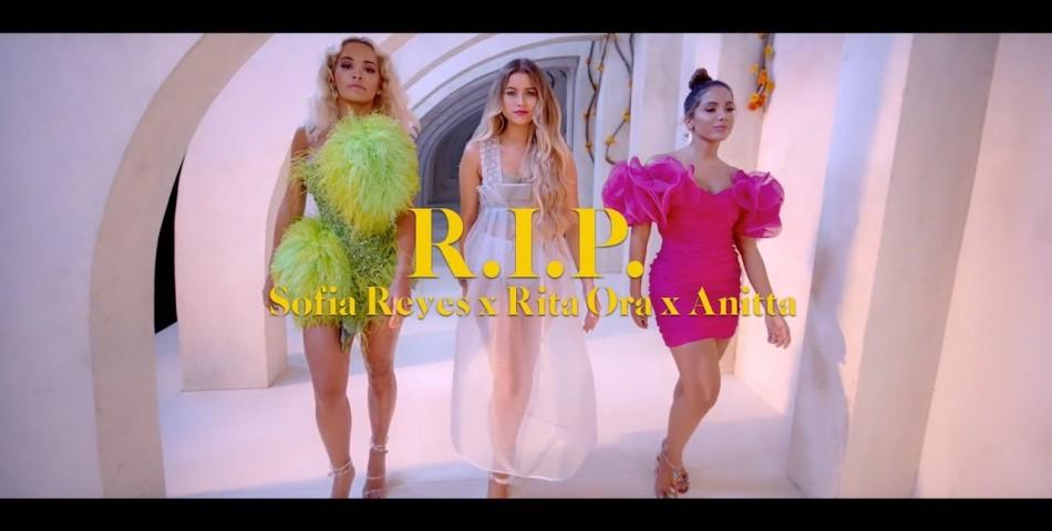 """Η Sofia Reyes, η Rita Ora και η Anitta μαζί στο """"R.I.P""""."""