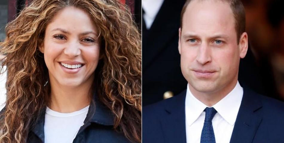 Η Shakira συζητά με τον πρίγκιπα William για την κλιματική αλλαγή!