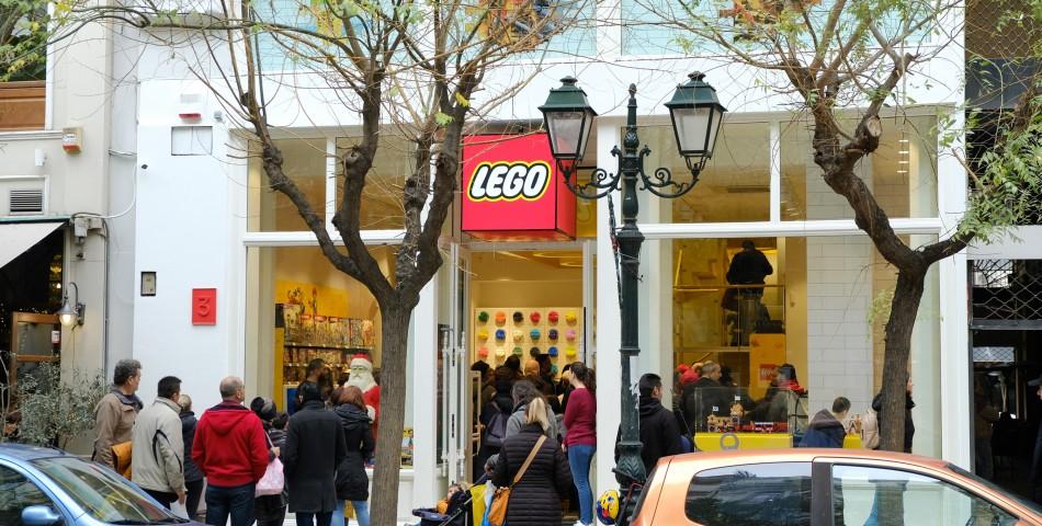 Νέο LEGO® Store στο κέντρο της Θεσσαλονίκης, Ελ. Βενιζέλου 3.